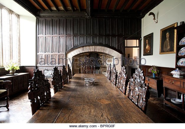Godolphin House Dining Room. Image - Alamy