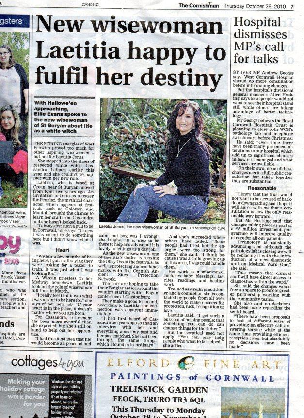 The Cornishman Newspaper